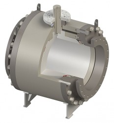 Ball_Trunnion Mounted Side Entry