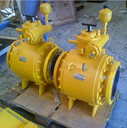 Ball_Trunnion Mounted Side Entry - Application
