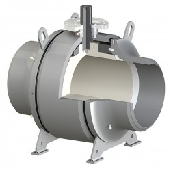 Ball_Trunnion Mounted Welted Body