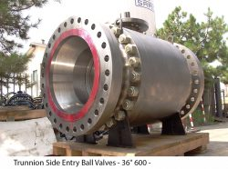 """Trunnion Side Entry Ball Valves - 36"""" 600 -"""
