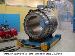 """Trunnion Ball Valve 56"""" 300 - Extended Stem 2600 mm"""