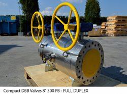 "Compact DBB Valves 8"" 300 FB - FULL DUPLEX"